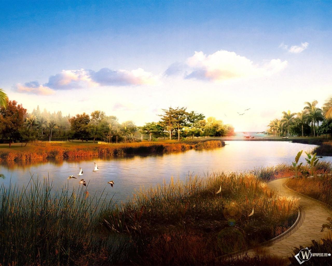 Картинки природа с разрешением 1280х1024