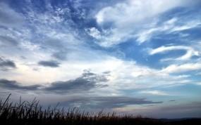 Обои Красивое небо: Облака, Небо, Природа