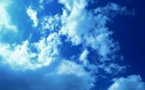 Обои Облачное небо: Облака, Свет, Небо, Природа
