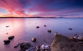 Обои Берег Новой Зеландии: Вода, Берег, Небо, Новая Зеландия, Природа