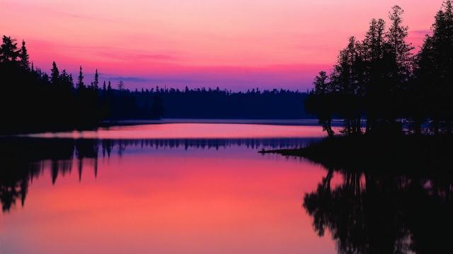Рассвет в Онтарио Канада