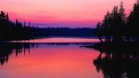 Обои Рассвет в Онтарио Канада: Рассвет, Онтарио, Канада, Природа