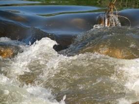 Обои Бурлящий поток: Река, Вода, Течение, Природа