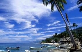 Обои Тропический пляж: Пляж, Природа