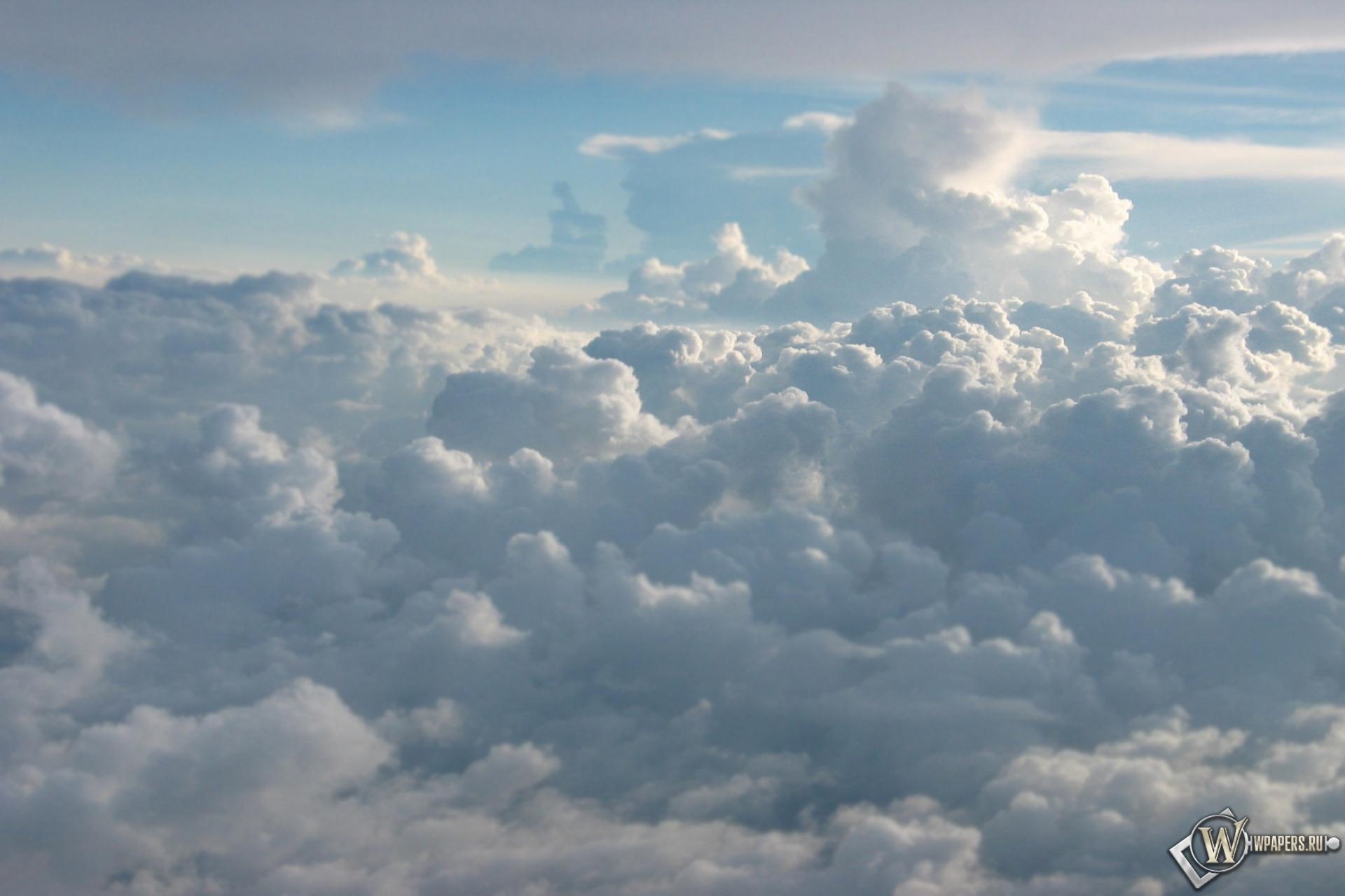 Обои кучевые облака облака небо