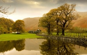 Обои Природа Англии: Природа, Озеро, Англия, Природа