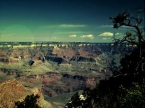 Обои Каньон: Скалы, Небо, Каньон, Горы