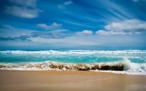 Лазурный океан