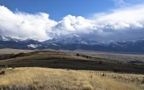 Обои Орегон США: Горы, Небо, США, орегон, Природа