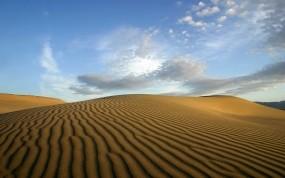 Обои Пустыня: Облака, Пустыня, Песок, Прочие пейзажи