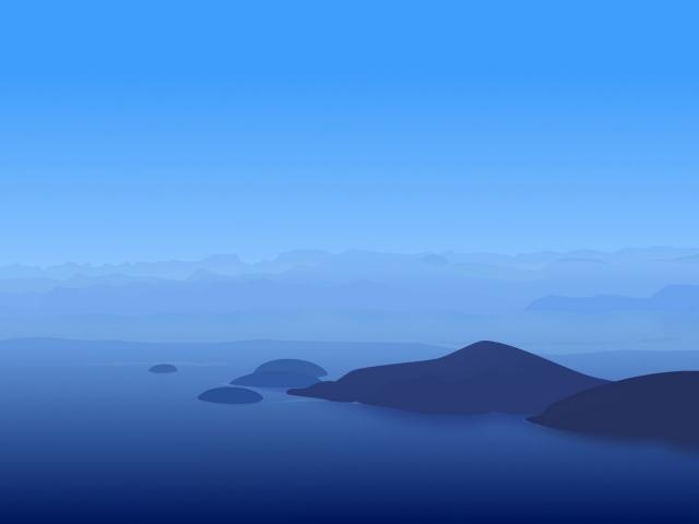 Синие холмы