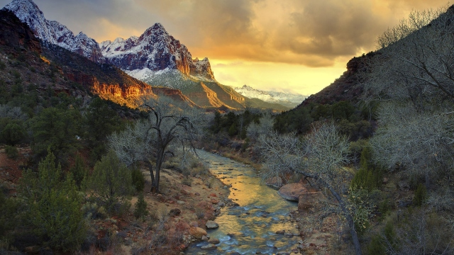 Национальный парк Зайон США