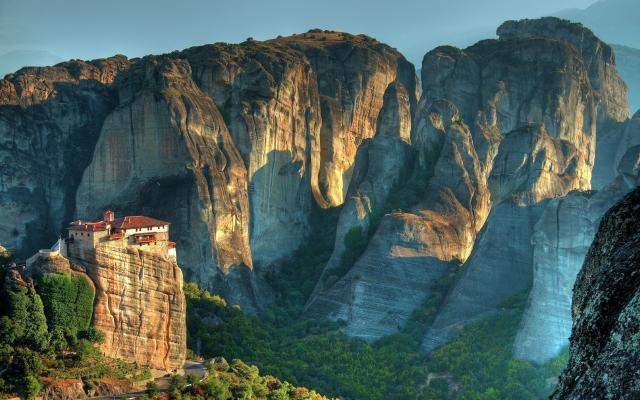Монастырь в Метеоре Греция