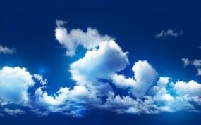 Обои Красивое небо: Облака, Небо, Синий, Природа