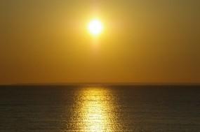 Обои Закат на море: Море, Солнце, Закат, Прочие пейзажи