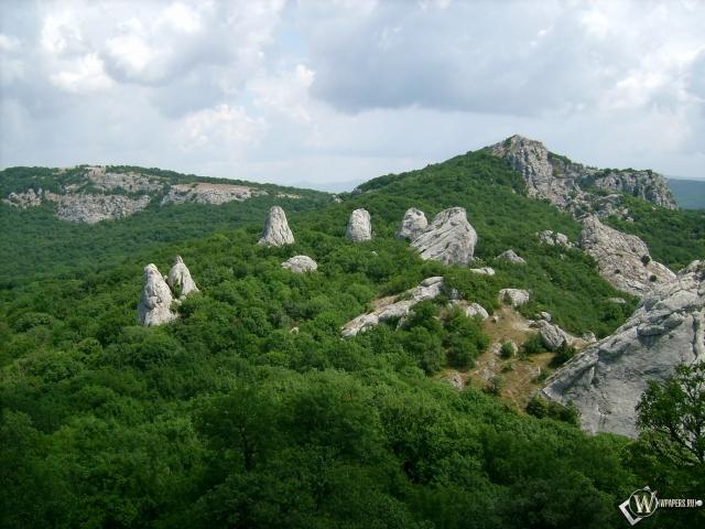 Каменный цветок - Крым