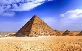 Обои Пирамида: Небо, Пирамида, Египет, Природа