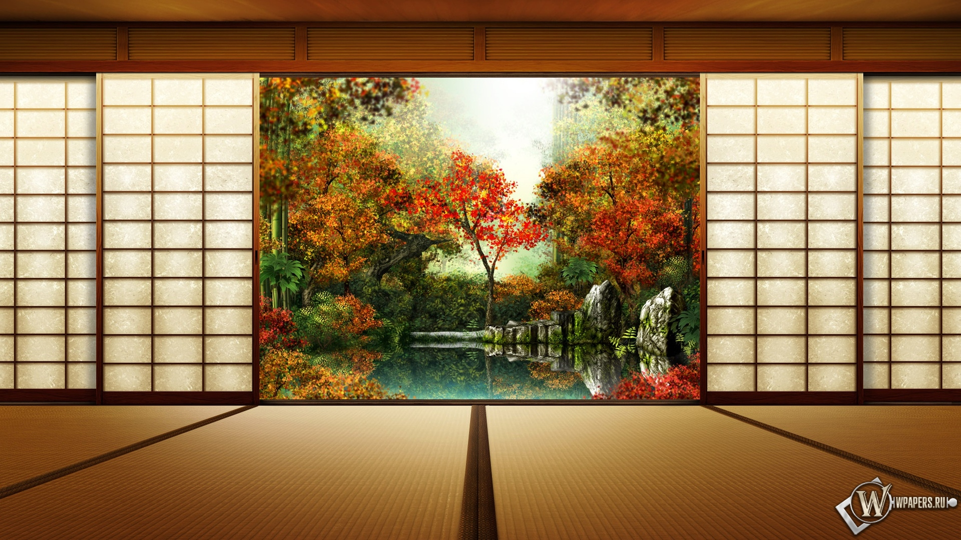 Картинки на рабочий стол с видом осени