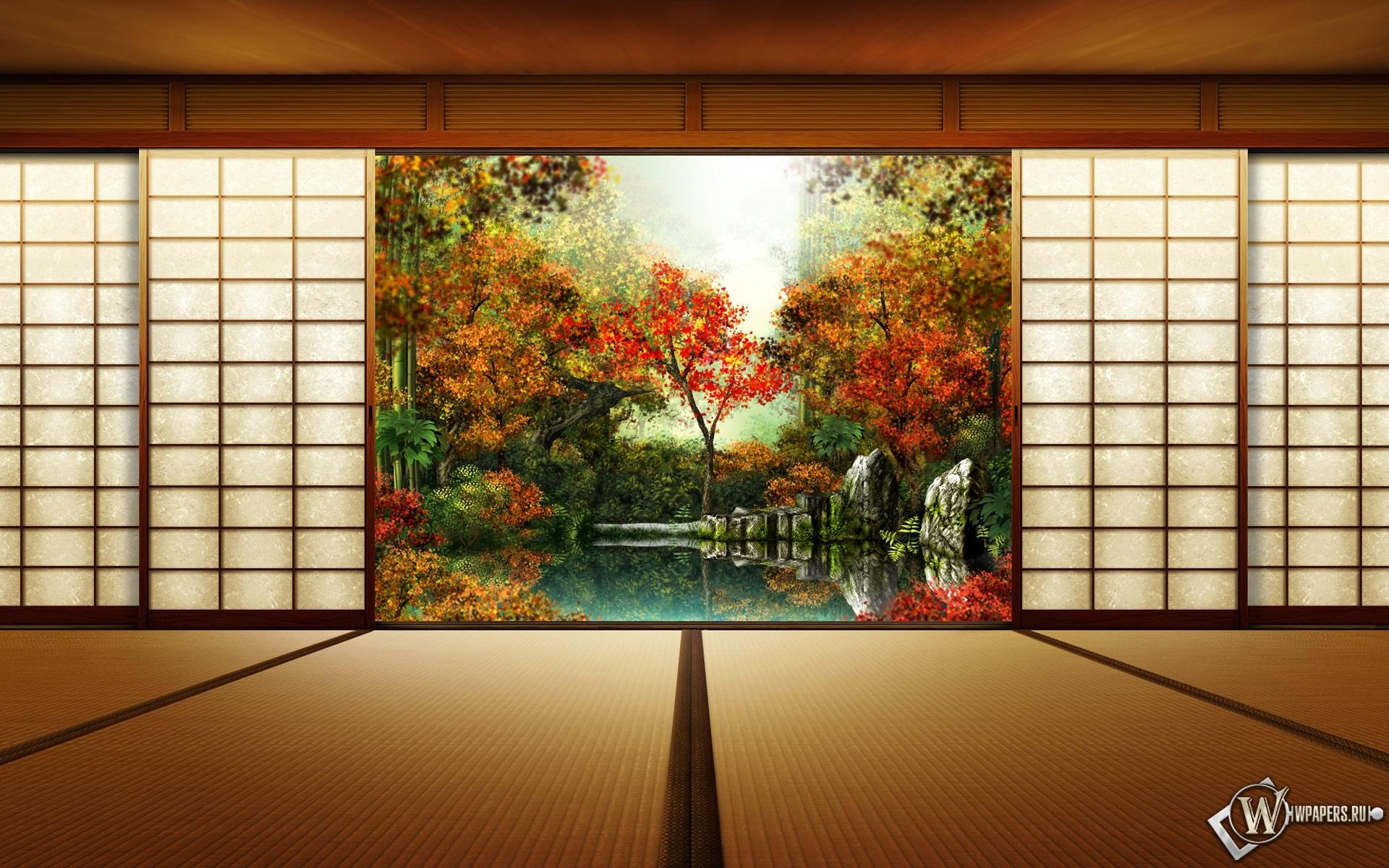 Осень в Японии 1920x1200