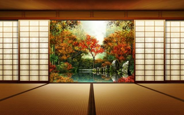 Осень япония осень