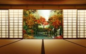 Обои Осень в Японии: Осень, Япония, Осень