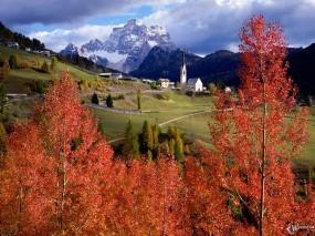 Обои Осенний замок: , Осень