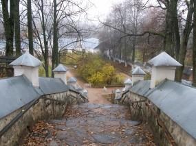 Обои мост к монасырю: Мост, Осень, Монастырь, Осень