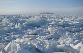 Обои Заледеневший байкал: Зима, Лёд, Озеро, Байкал, Байкал