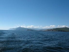 Обои Воды Байкала: Облака, Горы, Озеро, Небо, Байкал, Байкал