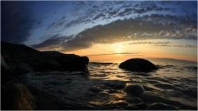 Обои Каменистый берег Байкала: Камни, Берег, Байкал, Прилив, Байкал