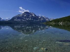 Обои Горный Байкал: Горы, Озеро, Байкал, Байкал