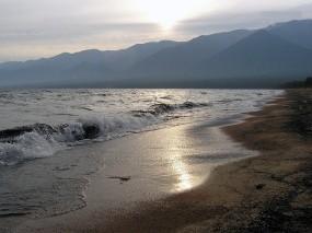 Обои Волны на Байкале: Горы, Волны, Байкал, Байкал