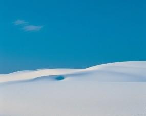 Обои Белый песок: Пустыня, Песок, Небо, Белый, Пустота, Прочие пейзажи