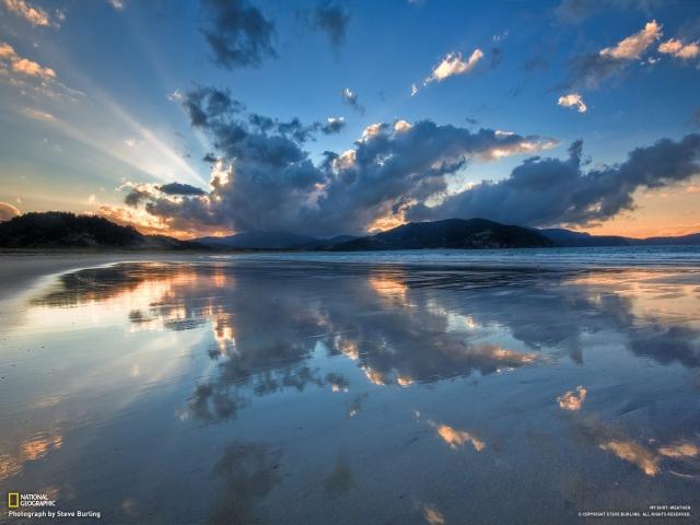 Бухта Waikawau - Новая Зеландия