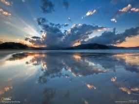 Обои Бухта Waikawau - Новая Зеландия: Новая Зеландия, Бухта, Прочие пейзажи