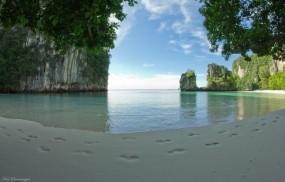 Обои Ко Хонг - провинция Краби - Юго-Таиланд: Пляж, Песок, Таиланд, Прочие пейзажи