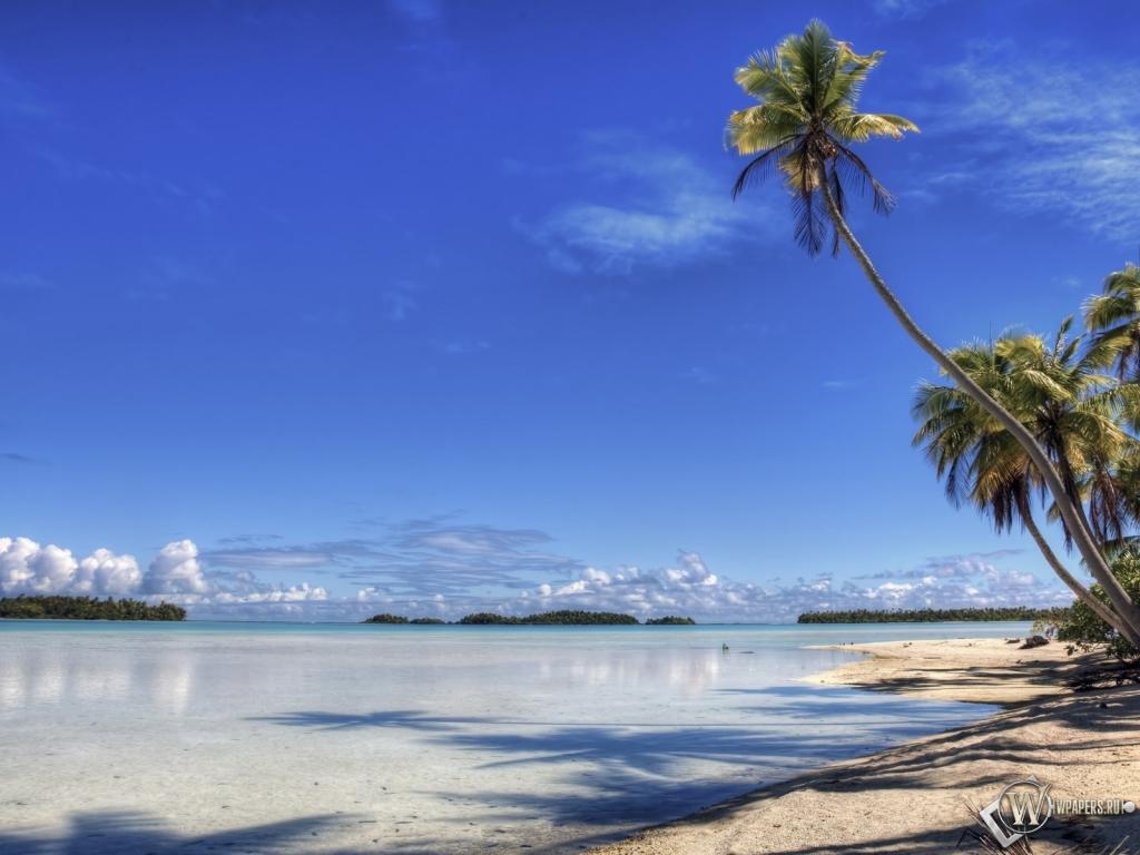 Пляж 1024x768