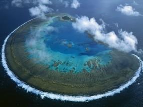 Обои Остров Леди Масгрэйв - Большой Барьерный риф: Остров, Австралия, Прочие пейзажи