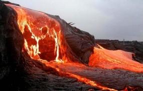 Обои Поток лавы: Гавайи, Поток, Лава, Прочие пейзажи