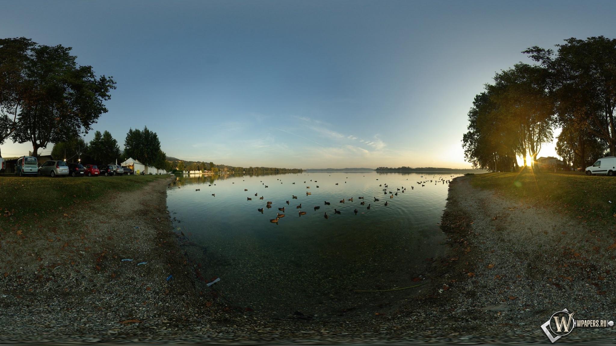 Озеро 2048x1152