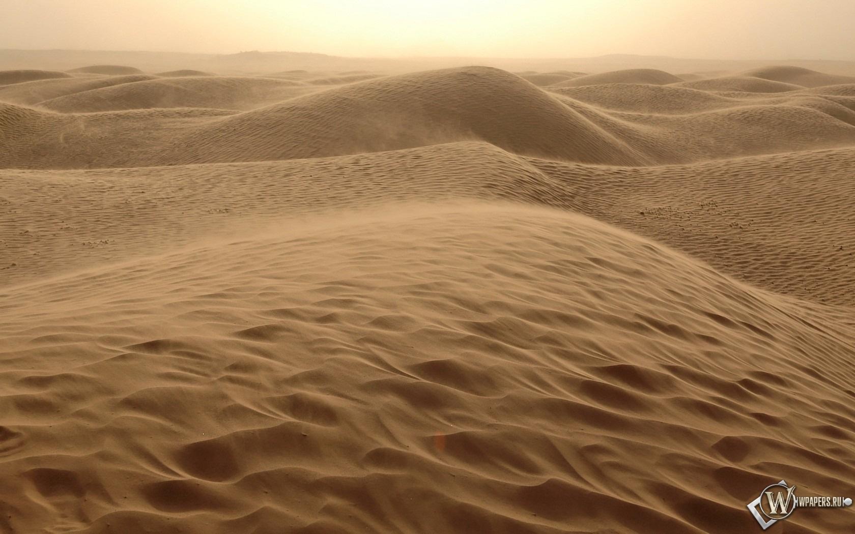 Песчаные дюны 1680x1050