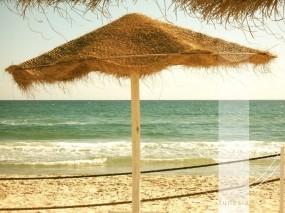 Обои Тунис: Пляж, Волны, Песок, Море, Полоса, Отдых, Relax, Прочие пейзажи