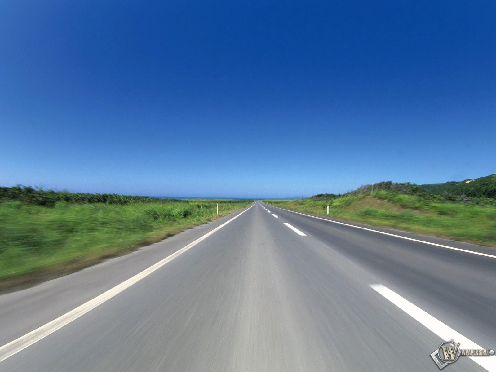Бескрайняя дорога 1600x1200