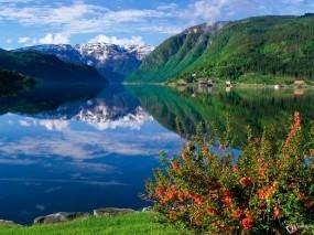 Обои Наедине с пприродой: Горы, Вода, Природа, Пейзаж, Прочие пейзажи