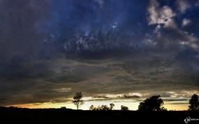 Обои Мятежное небо: Тучи, Небо, Прочие пейзажи