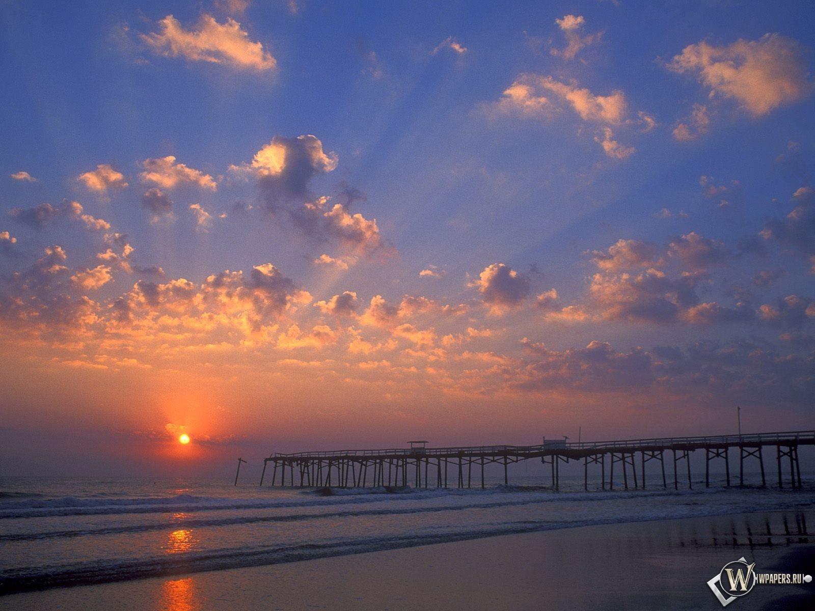 Пляж флориды 1600x1200
