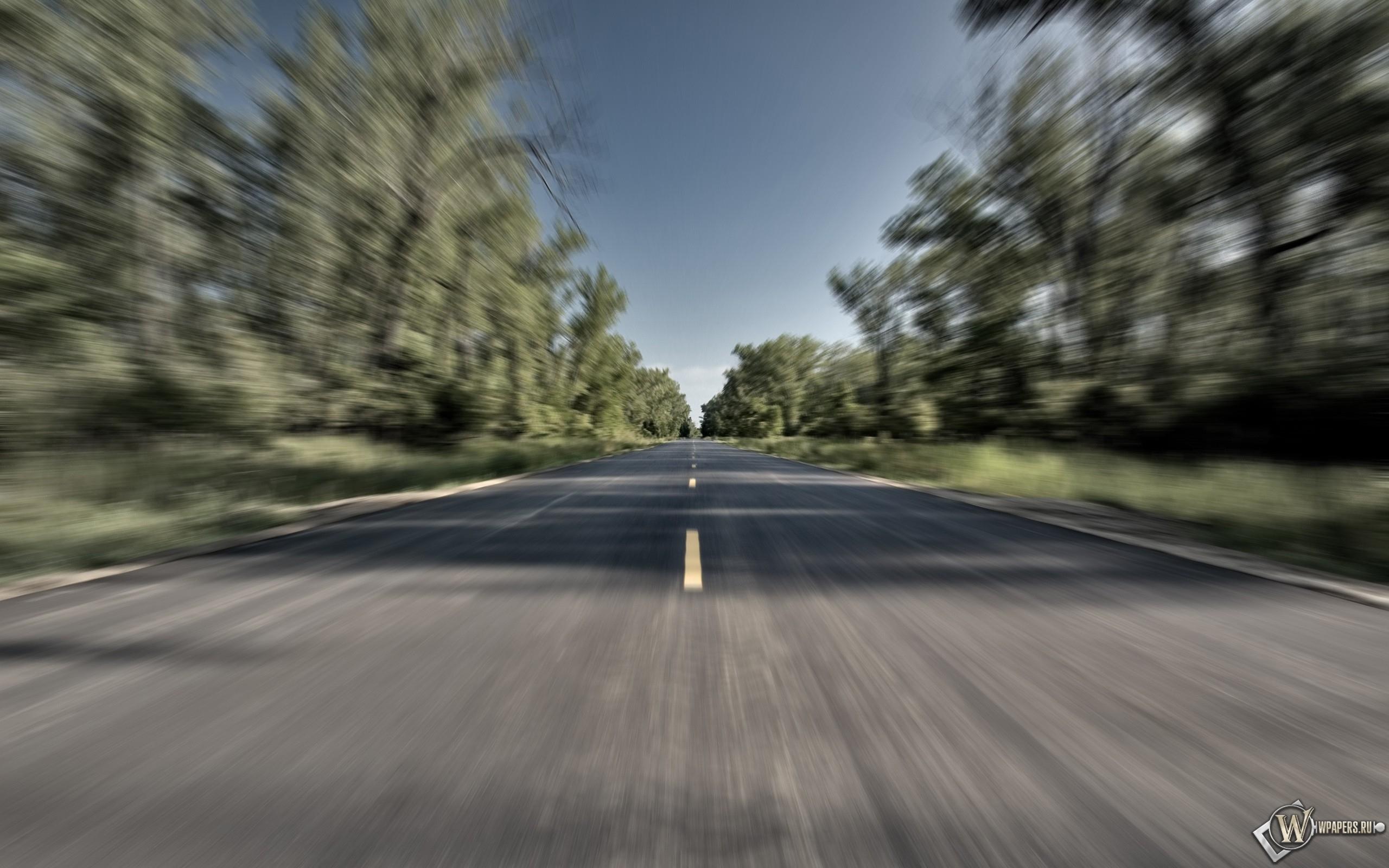 Разгон на дороге 2560x1600