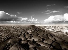 Обои Каменная тропа: Камни, Глина, Тропа, Прочие пейзажи