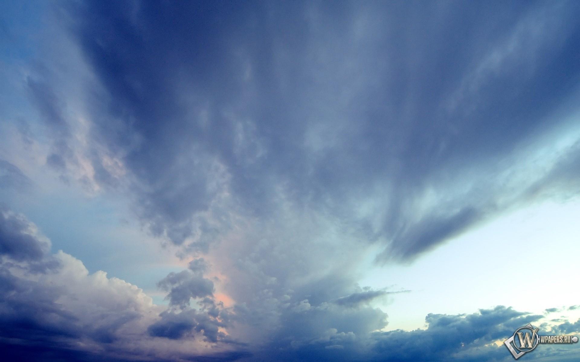 Облака на небе 1920x1200