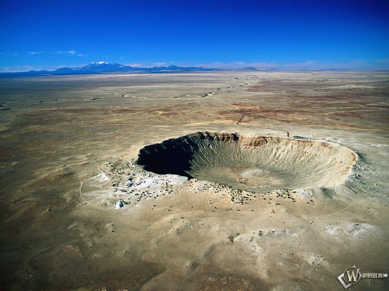 Метеоритный кратер 1600x1200